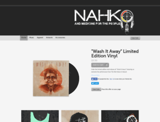 nahko.spinshop.com screenshot