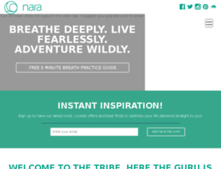 naiaproject.com screenshot