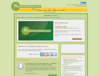 naijaforumsquare.com screenshot