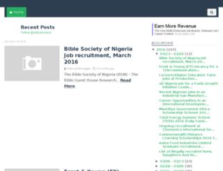 naijajobsolution.com screenshot
