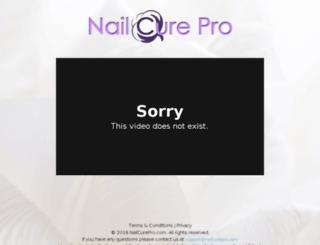 nailcurepro.com screenshot