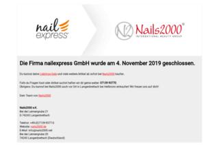 nailexpress.de screenshot