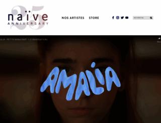 naive.fr screenshot
