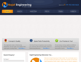 najafengineering.com screenshot