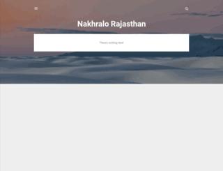 nakhralorajasthan.com screenshot