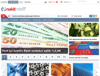 nakithaber.com screenshot