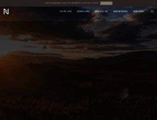 nakomagolfresort.com screenshot