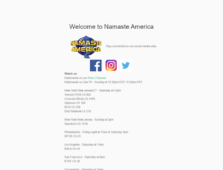 namastetv.com screenshot