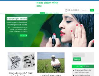 namchamvinhcuu.com.vn screenshot