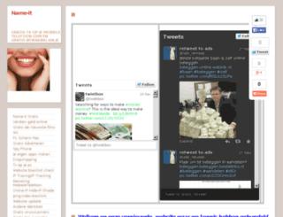 name-it.webs.com screenshot