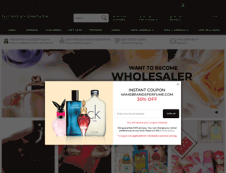 namebrandsperfume.com screenshot