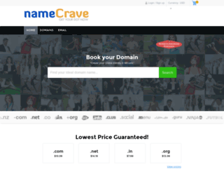 namecrave.com screenshot