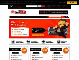namehost.ro screenshot