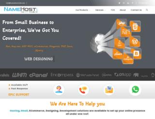 namehostclub.com screenshot