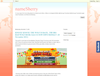 namesherry.com screenshot