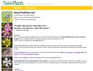 namethatplant.net screenshot