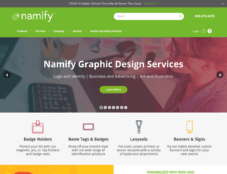 namify.com screenshot