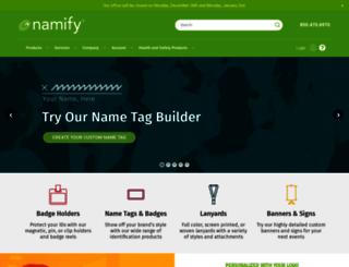 namify.com screenshot