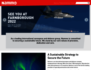 nammo.com screenshot
