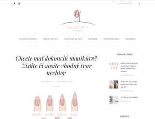 nanechty.sk screenshot