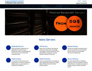 nanoservers.net screenshot