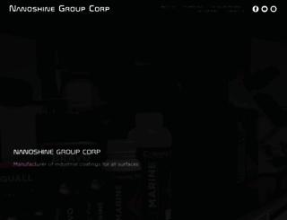 nanoshine-group.com screenshot