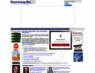 nanotech-now.com screenshot