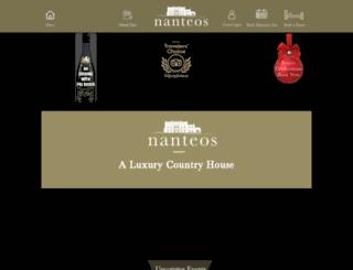 nanteos.com screenshot
