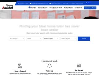 nanyangacademics.com screenshot