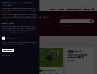 nao.org.uk screenshot