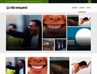 naoesqueci.com.br screenshot