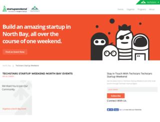 napa.startupweekend.org screenshot