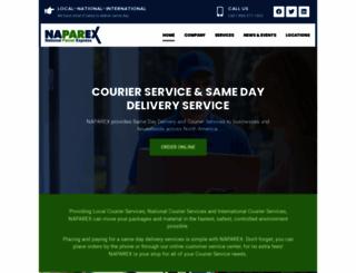 naparex.com screenshot