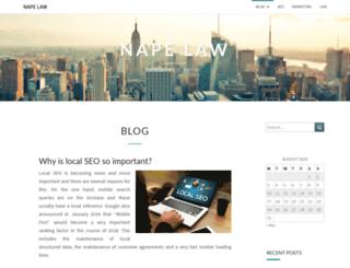 napephys.com screenshot