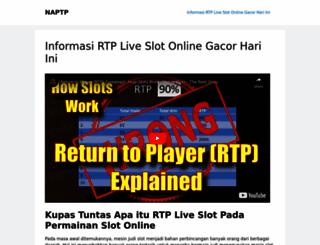 naptp.org screenshot