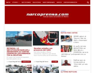 narcoprensa.com screenshot
