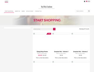 naritafashion.net screenshot