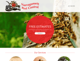 narragansettpestcontrol.com screenshot