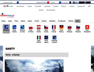 narty.studentnews.pl screenshot