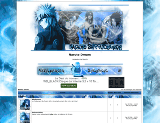 naruto-dream.probb.fr screenshot
