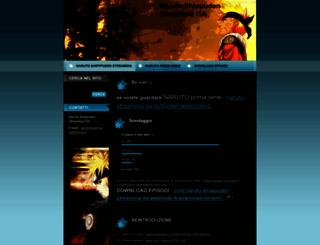 naruto-shippuden-streaming-ita.webnode.it screenshot