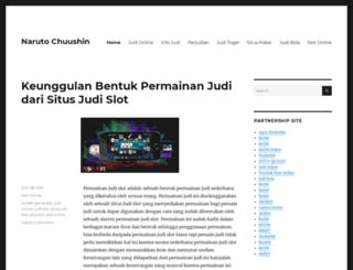 narutochuushin.com screenshot