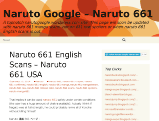 narutogoogle.wordpress.com screenshot