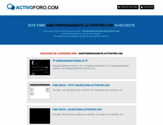 narutoimperianaruto.activoforo.com screenshot