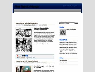 narutomangafree.blogspot.com screenshot