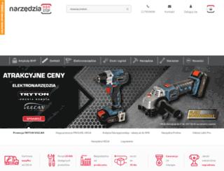narzedzianonstop.pl screenshot