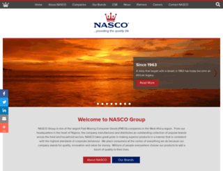 nasco.net screenshot