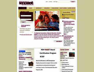 naset.org screenshot