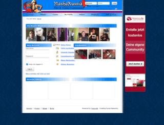 nasharussia.yooco.de screenshot