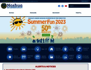 nashuanh.gov screenshot